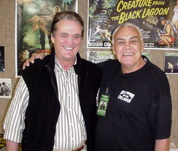 Ben and Dick Durock at the Spookenanny convention